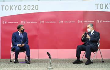国立競技場で世界陸上開催を希望 世界陸連会長、森氏会談で 画像1