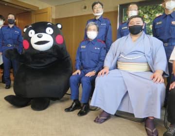 大関の正代「存在感示す」 くまモンや熊本知事が祝福 画像1
