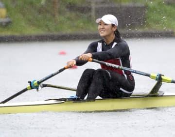 ボート、リオ出場の大石ら決勝へ 全日本選手権、第3日 画像1