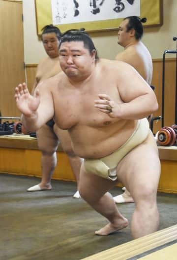 新大関正代が稽古を再開 凱旋終え「相撲に集中」 画像1