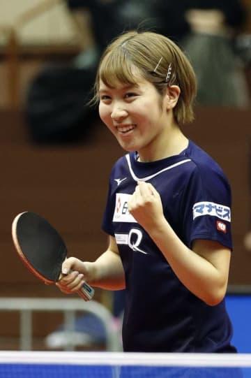 平野美宇が11月の国際大会欠場 卓球の東京五輪代表、腰痛のため 画像1
