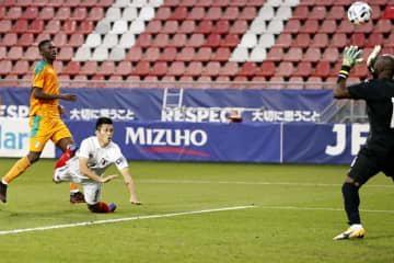 日本、土壇場1―0で勝利 コートジボワール戦 画像1