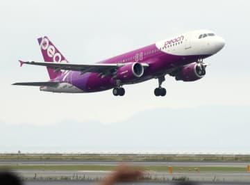 ピーチ、中部空港に12月就航 札幌と仙台、需要回復に備え 画像1