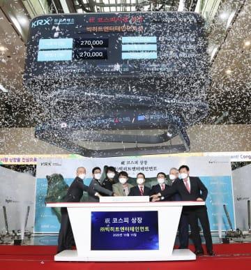 韓国、BTS所属事務所が上場 時価総額1兆円に、世界的人気 画像1