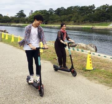 7都市で電動スケーター公道実験 自転車レーン解禁、今月下旬以降 画像1