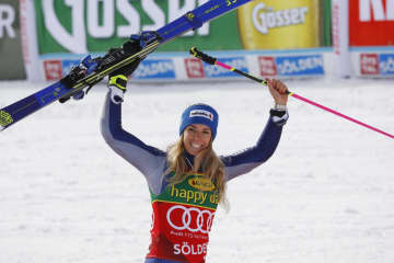 W杯スキー開幕、安藤は途中棄権 アルペン女子大回転 画像1