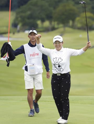 申ジエが逆転で国内25勝目 富士通女子ゴルフ 画像1