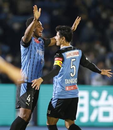 川崎、J1最多の11連勝 名古屋に3―0で快勝 画像1