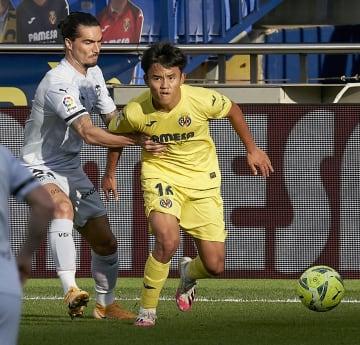 久保建英、警告2度で退場 サッカー、スペイン1部 画像1