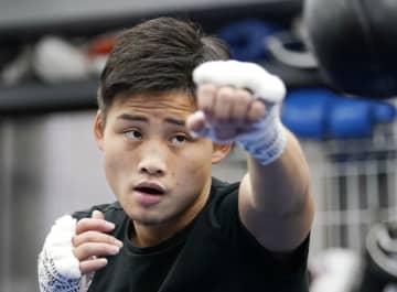 ボクシングの京口「完勝したい」 11月、タイ選手と3度目防衛戦 画像1