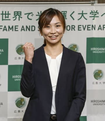 木村文子が広島大大学院に入学 陸上女子100m障害 画像1