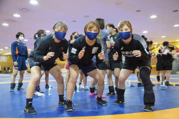 川井梨紗子、世界選手権出場へ レスリング女子、合宿開始 画像1