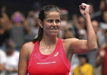 女子テニスのゲルゲス、現役引退 ツアー7勝、世界ランク最高9位 画像1