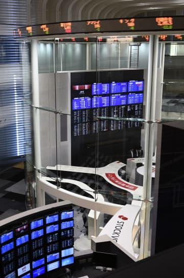 東証反落、165円安 円高や欧州コロナ警戒 画像1
