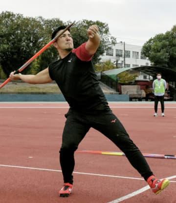 やり投げのディーン、練習を公開 「安定が絶対条件」 画像1