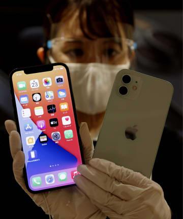 新型アイフォーン発売 5G対応、端末普及に弾み 画像1