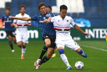 吉田麻也がフル出場で3連勝 セリエA、アタランタに3―1 画像1
