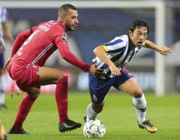 中島翔哉、初出場でアシスト ポルトガル1部、1―0で勝利 画像1