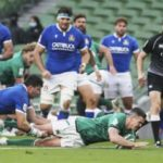 6カ国対抗、アイルランドが大勝 ラグビー、約7カ月半ぶりに再開 画像1