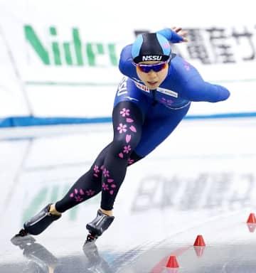高木美帆、大会新で5連覇 全日本距離別の1500m 画像1