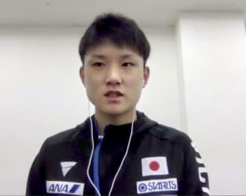 張本智和「待ちに待った試合」 卓球、11月に中国で再開 画像1