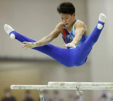 北園丈琉、個人総合など3冠 体操の全日本高校選抜大会 画像1