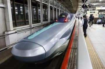 次世代新幹線が試験走行 JR東、360キロ目標 画像1