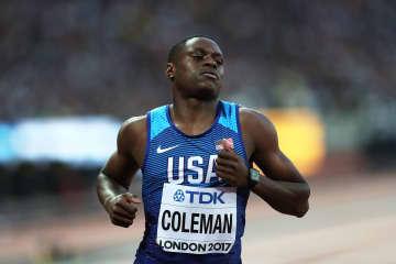 陸上のコールマンは2年資格停止 百m王者、東京五輪アウト 画像1