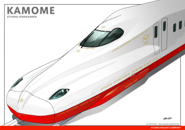 長崎の新幹線は「かもめ」 JR九州、新型車両導入 画像1