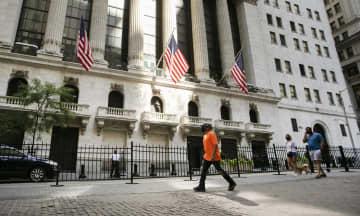 NY株反落、157ドル安 アップル急落でリスク回避 画像1
