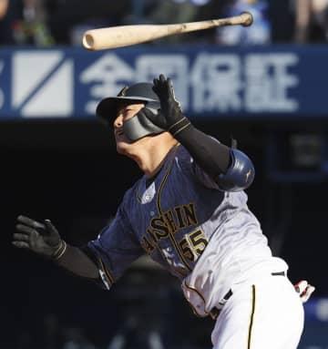 D5―13神(31日) 陽川が満塁弾、阪神6連勝 画像1