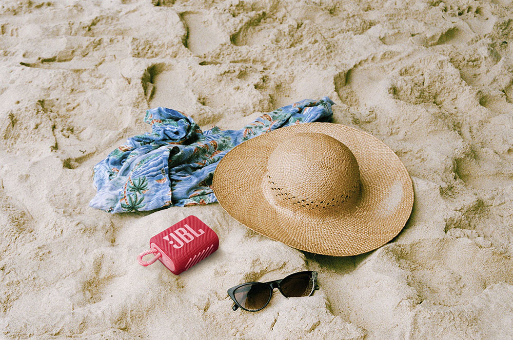 Beach Essentials On Sand