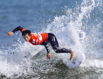 サーフィン、大原洋人2回戦へ WG代表選考会、前田マヒナらも 画像1