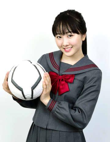 本田望結が応援役に 第99回全国高校サッカー 画像1