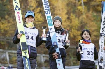 佐藤幸椰が2連勝、高梨沙羅もV NHK杯ジャンプ 画像1