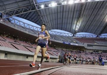 女子5000m、田中希実は2位 陸上、デンカチャレンジ杯 画像1