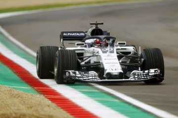 角田裕毅がF1マシンで初走行 来季デビューの可能性 画像1