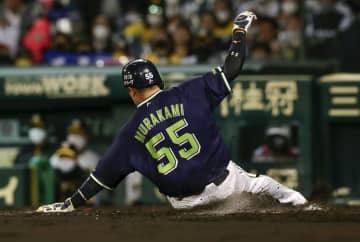 村上宗隆が1イニング3盗塁 ヤクルト、プロ野球41年ぶり 画像1