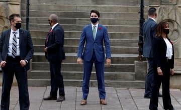 カナダ首相が祝意 バイデン氏勝利に 画像1