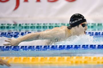 パラ競泳男子、木村が富田に大差 秋季記録会、100mバタフライ 画像1