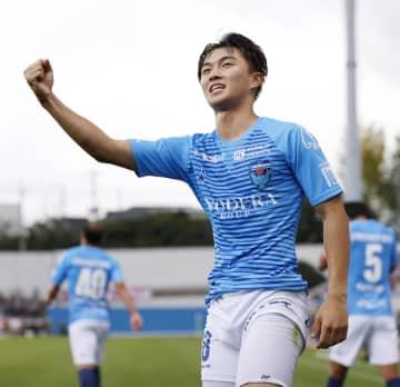 J1、横浜FCが神戸に逆転勝ち 三浦が最年長出場記録を更新 画像1