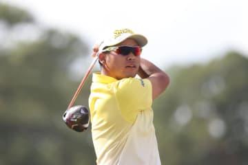 米男子ゴルフ、松山が2打差2位 ヒューストン・オープン 画像1
