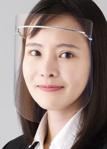 シャープ、顔シールド発売 光反射を抑制、曇りにくく 画像1