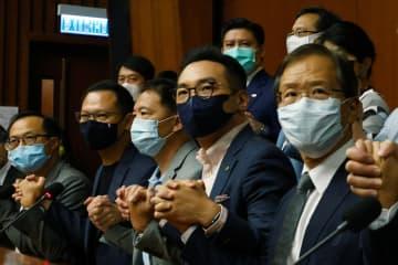 香港民主派議員の資格剥奪か 中国全人代が審議と報道 画像1