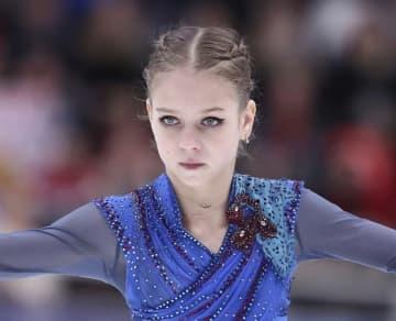 フィギュア、トルソワが2勝目 ロシア・カップ第4戦 画像1