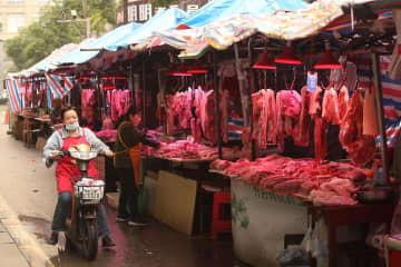 中国の物価上昇が大幅鈍化 10月、食肉が安定 画像1