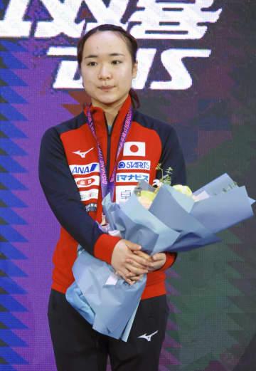 伊藤美誠、3位決定戦制して銅 中国での女子W杯最終日 画像1