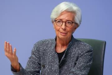 欧州中銀、量的緩和拡大も 新型コロナ再流行で総裁 画像1