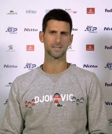 ファイナルに向けジョコが抱負 テニス最終戦、5年ぶりV目指す 画像1
