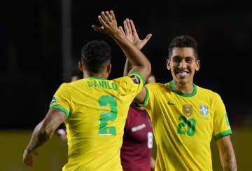 ブラジル3連勝で首位 サッカーW杯南米予選 画像1